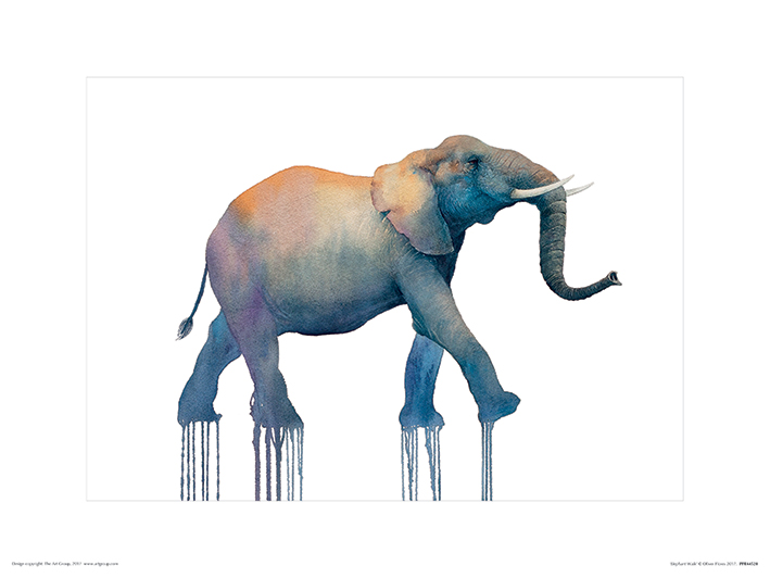 Oliver Flores (Elephant Walk) Art Prints