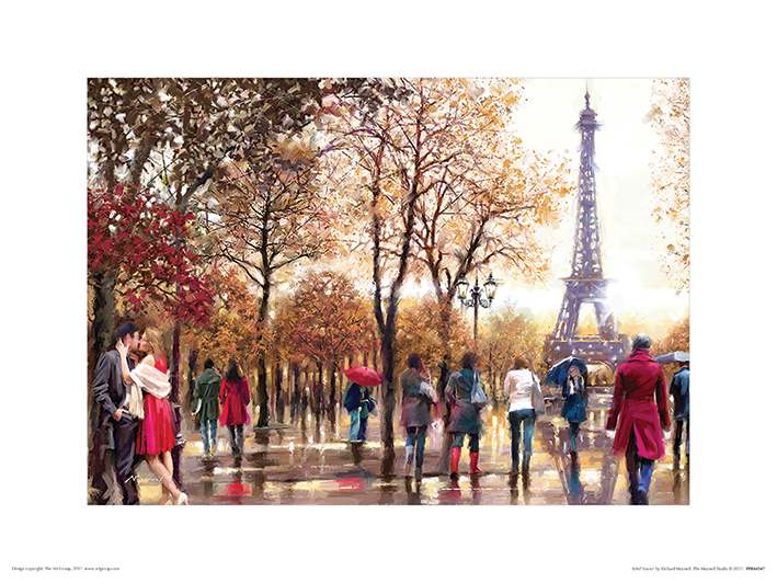 Richard Macneil (Eiffel Tower) Art Prints