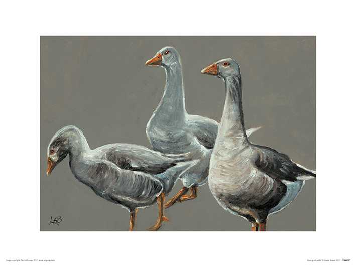 Louise Brown (Having a Gander) Art Prints