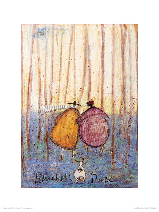 Sam Toft (Bluebell Daze) Art Prints