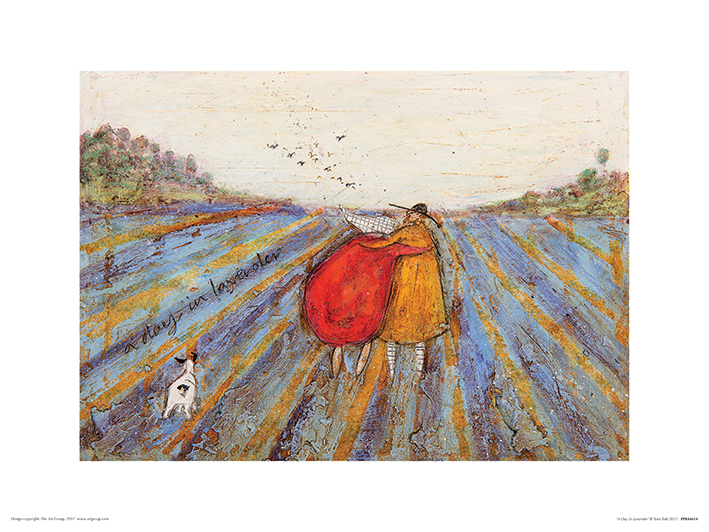 Sam Toft (A Day in Lavender) Art Prints