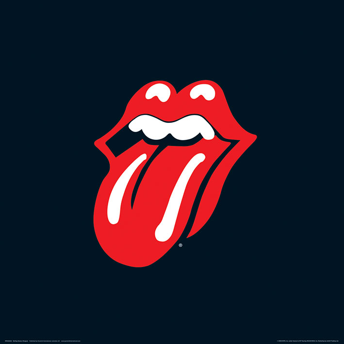 Rolling stones (Lips) Art Prints