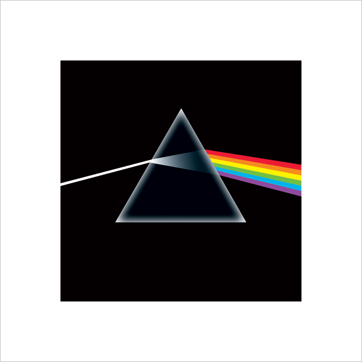 Pink Floyd (Dark Side Of The Moon) Art Print