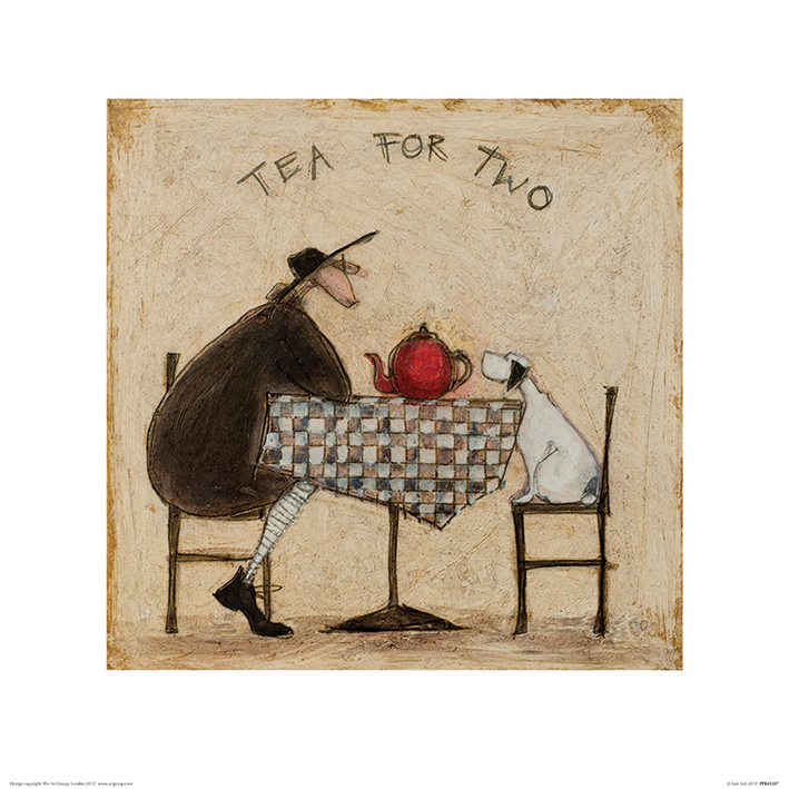 Sam Toft (Tea for Two) Art Print