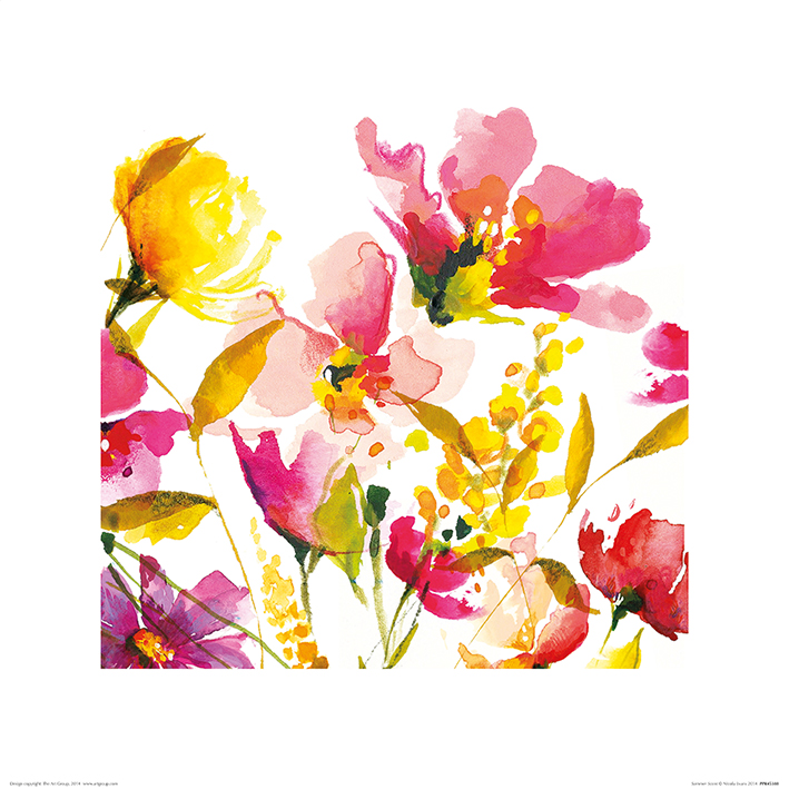 Nicola Evans (Summer Scent) Art Prints