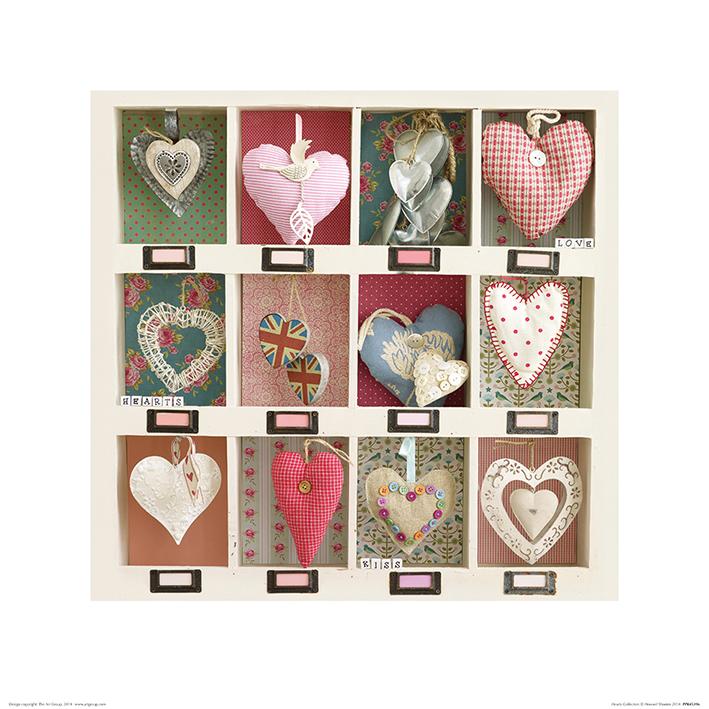 Howard Shooter (Hearts Collection) Art Print