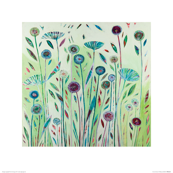 Shyama Ruffell (Green Dreams) Art Print