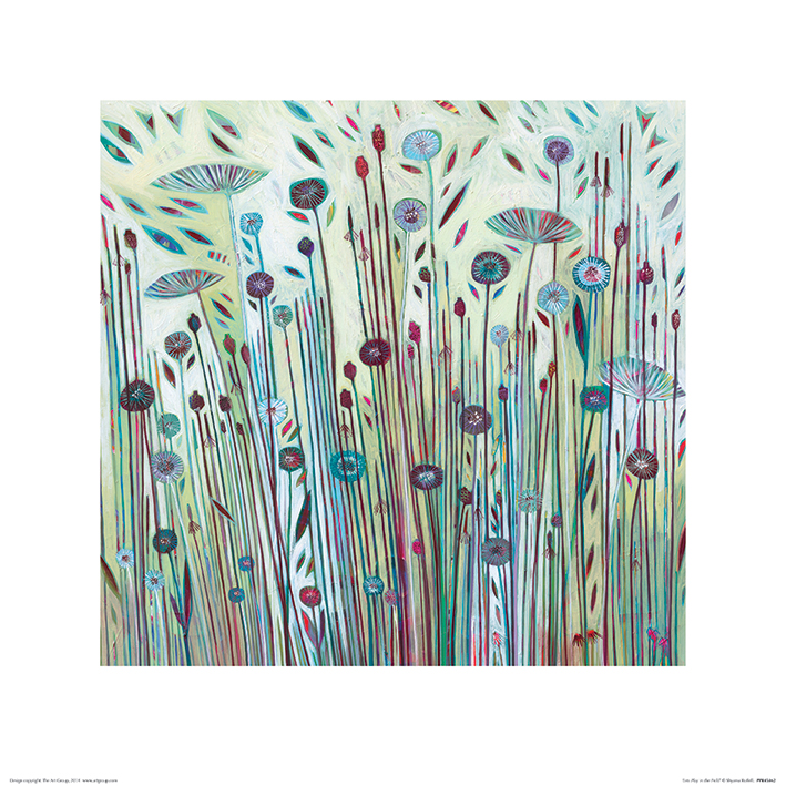 Shyama Ruffell (Lets Play in the Field) Art Print