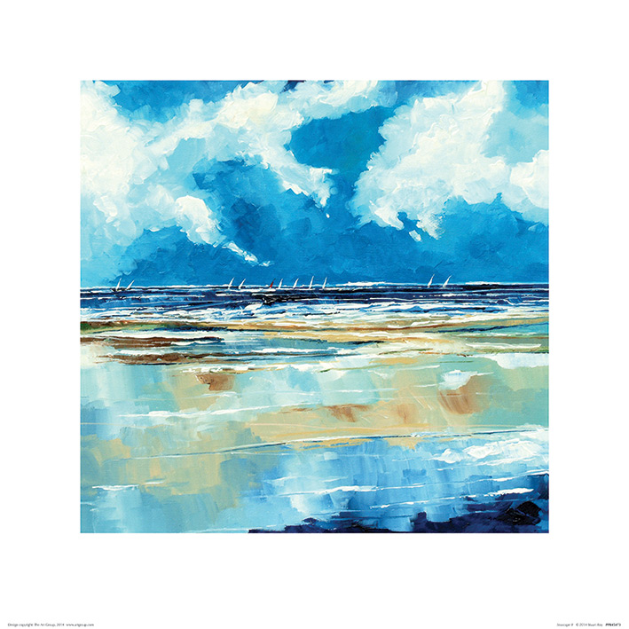 Stuart Roy (Seascape II) Art Prints