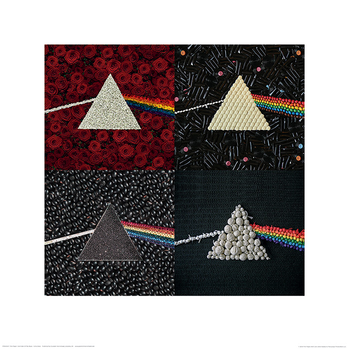 Pink Floyd (Dark Side Of The Moon - Collections) Art Print