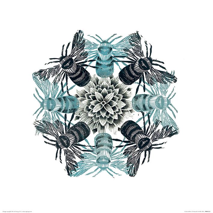 Amanda Colville (Circle of Bees) Art Prints