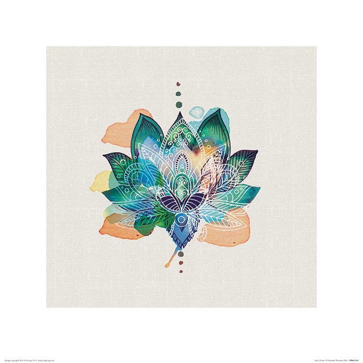 Summer Thornton (Lotus Flower) Art Prints