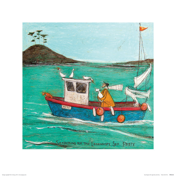 Sam Toft (Searching For The Legendary Sea Pasty) Art Print