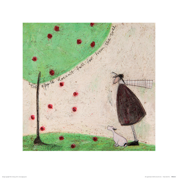 Sam Toft (The Apple Doesn't Fall Far From The Tree) Art Print