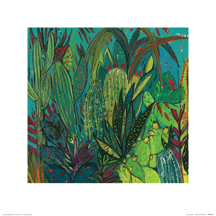 Shyama Ruffell (Cactus Jungle) Art Print