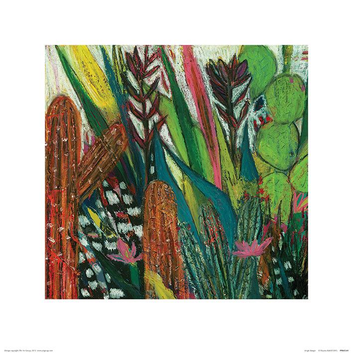 Shyama Ruffell (Jungle Boogie) Art Print