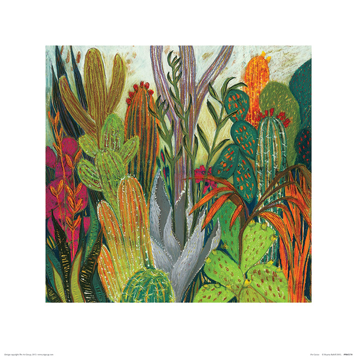 Shyama Ruffell (The Cactus) Art Prints