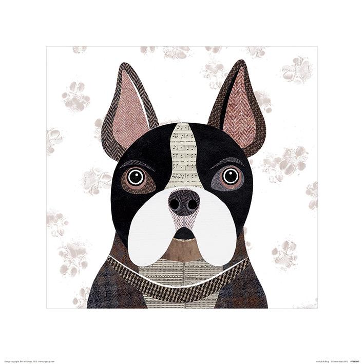 Simon Hart (French Bulldog) Art Print