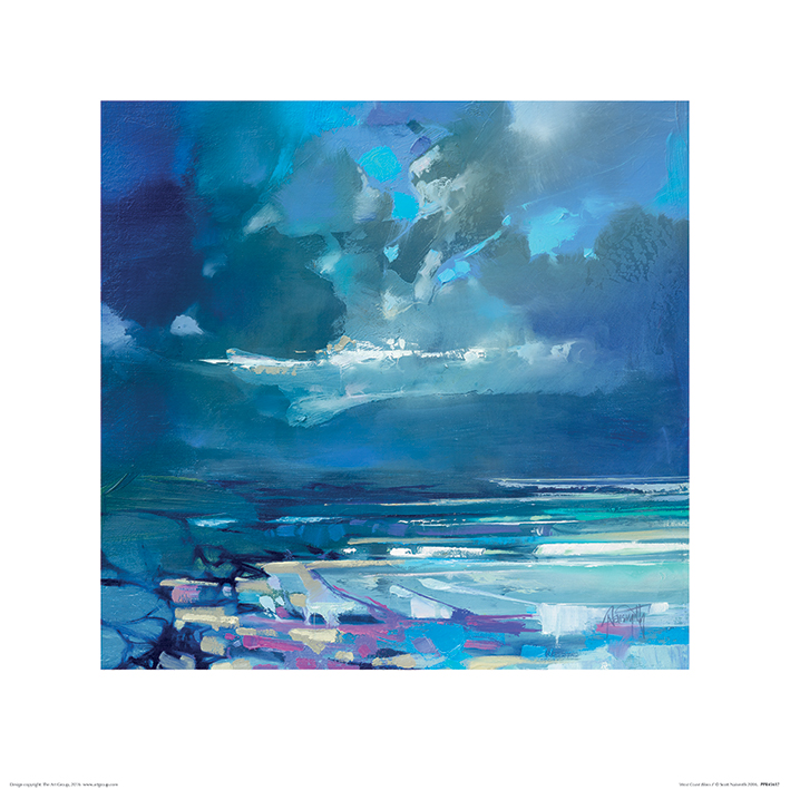 Scott Naismith (West Coast Blues I) Art Prints