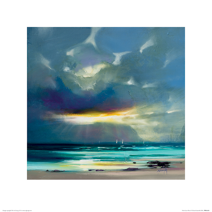 Scott Naismith (West Coast Blues II) Art Prints