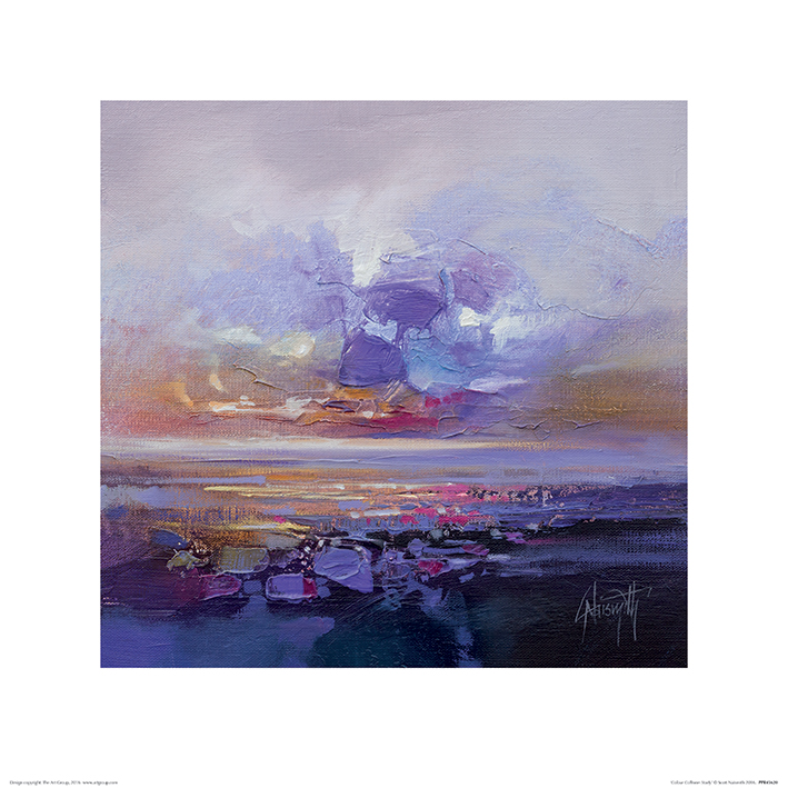 Scott Naismith (Colour Collision Study) Art Print