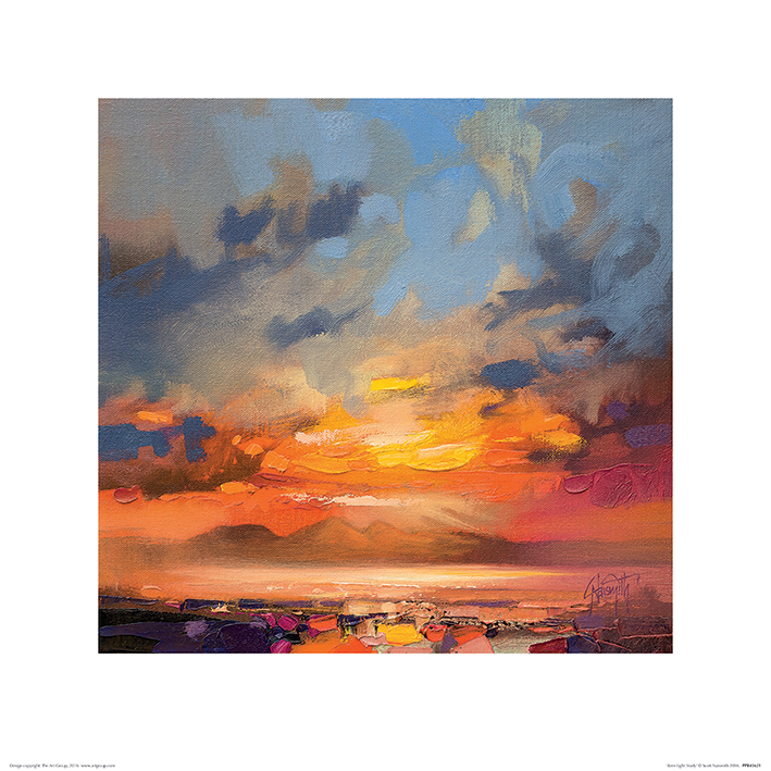 Scott Naismith (Rum Light Study) Art Prints