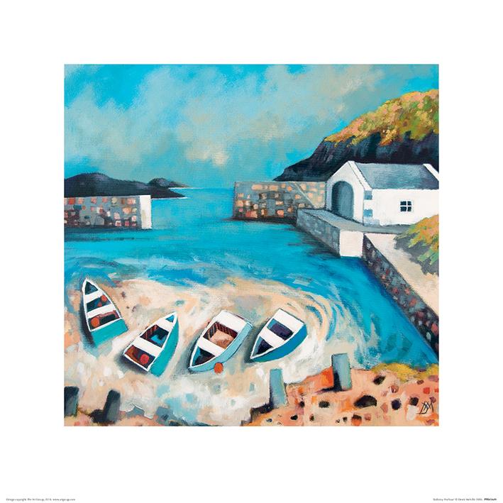 Derek Melville (Ballintoy Harbour) Art Print