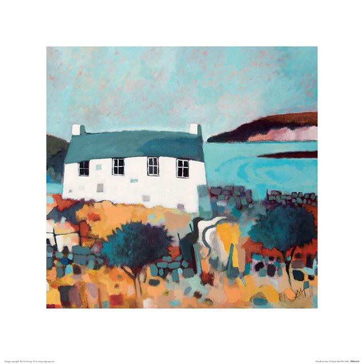 Derek Melville (Headland View) Art Print