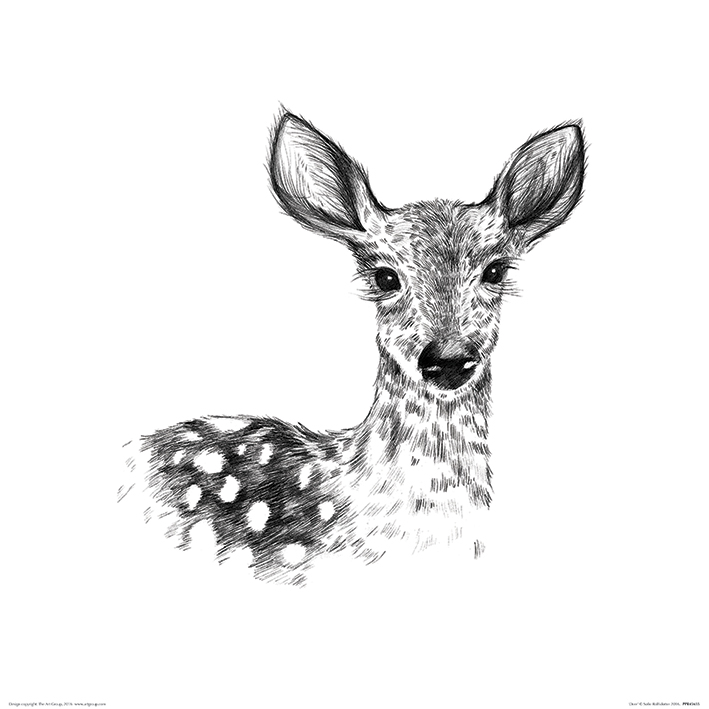 Sofie Rolfsdotter (Deer) Art Prints