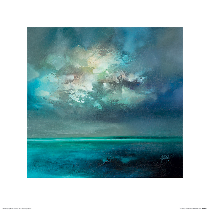 Scott Naismith (Isle of Skye Emerges) Art Print