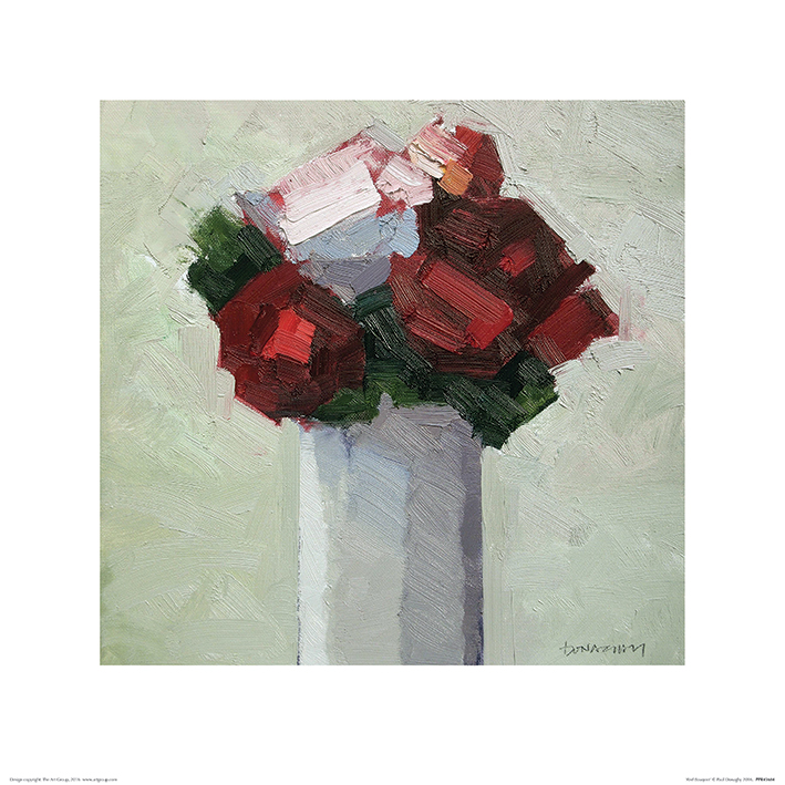 Paul Donaghy (Red Bouquet) Art Prints