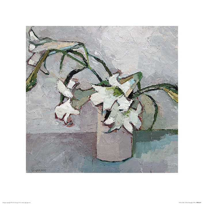Paul Donaghy (White Lillies) Art Print
