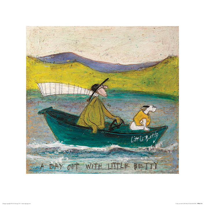 Sam Toft (A Day out with Little Betty) Art Prints