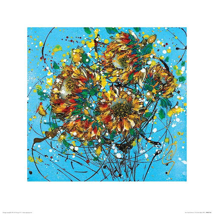 Clare Sykes (Sun Seeds Breeze 2) Art Prints
