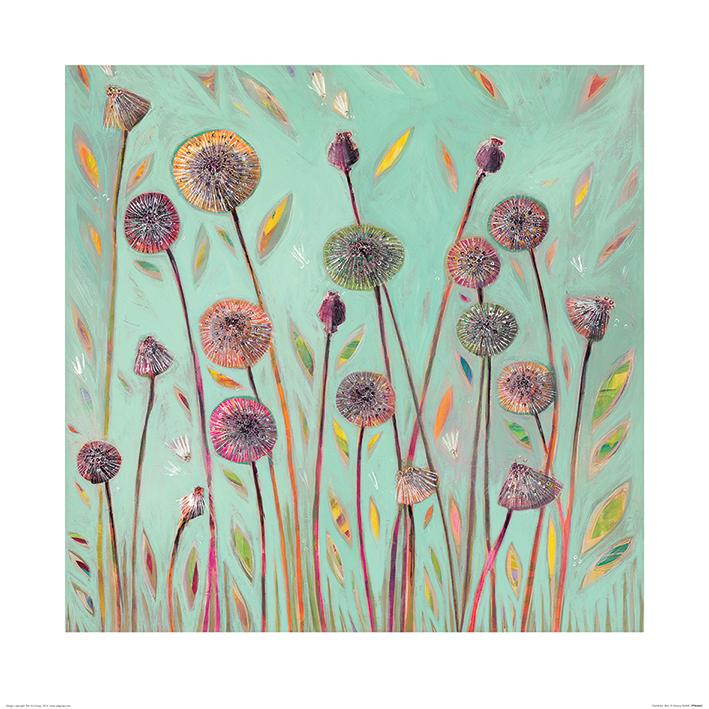 Shyama Ruffell (Dandelion Blue) Art Prints