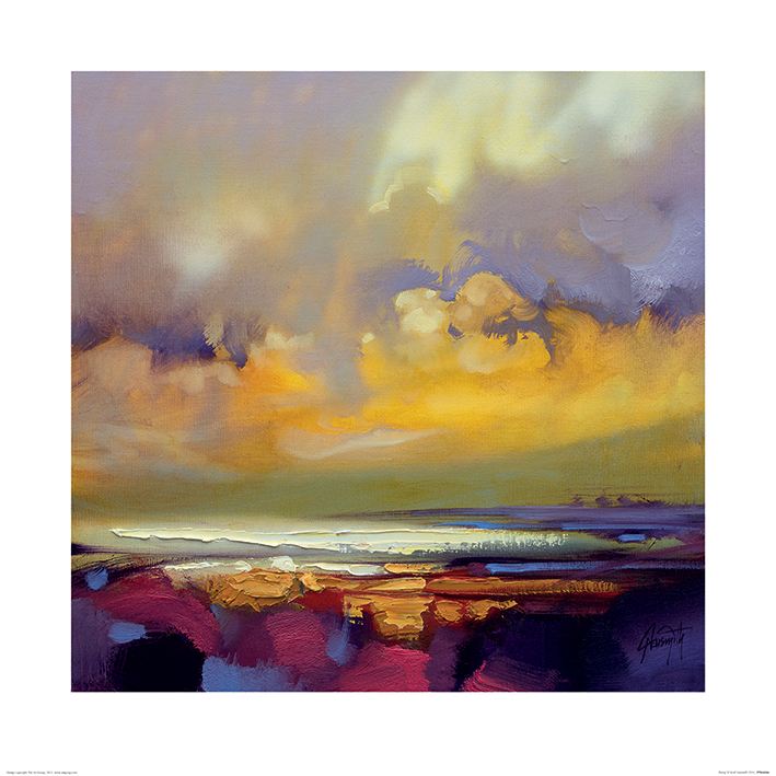 Scott Naismith (Rising) Art Print