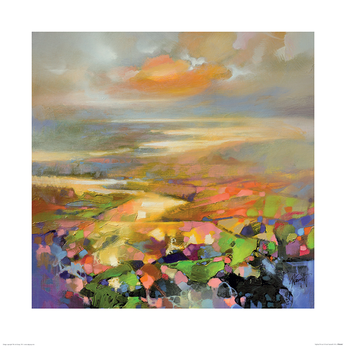 Scott Naismith (Highland Terrain) Art Prints
