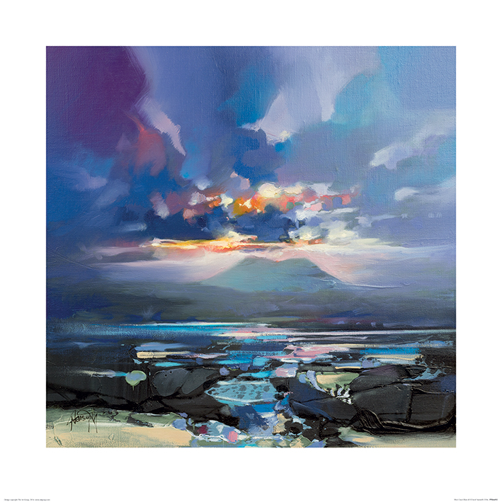 Scott Naismith (West Coast Blues III) Art Print