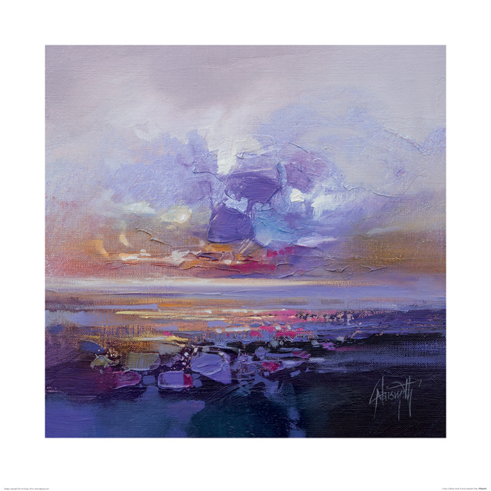 Scott Naismith (Colour Collision Study) Art Prints