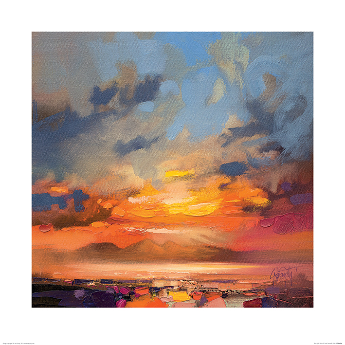 Scott Naismith (Rum Light Study) Art Print