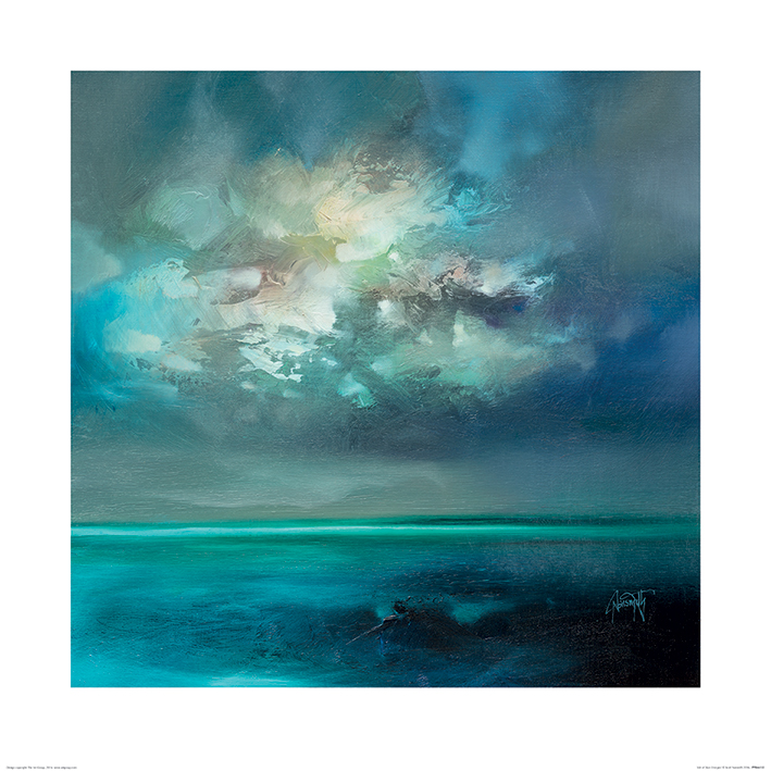 Scott Naismith (Isle of Skye Emerges) Art Prints