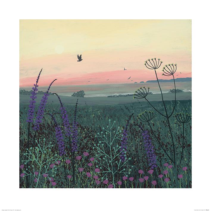 Jo Grundy (Coastal Dawn) Art Prints