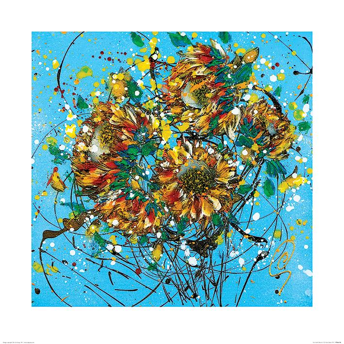 Clare Sykes (Sun Seeds Breeze 2) Art Print