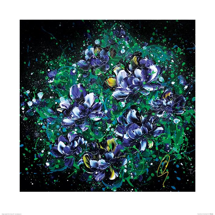 Clare Sykes (Purple Hearts) Art Prints