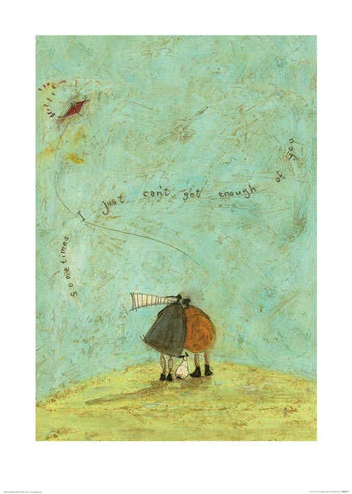 Sam Toft (I Just Can't Get Enough of You) Art Print