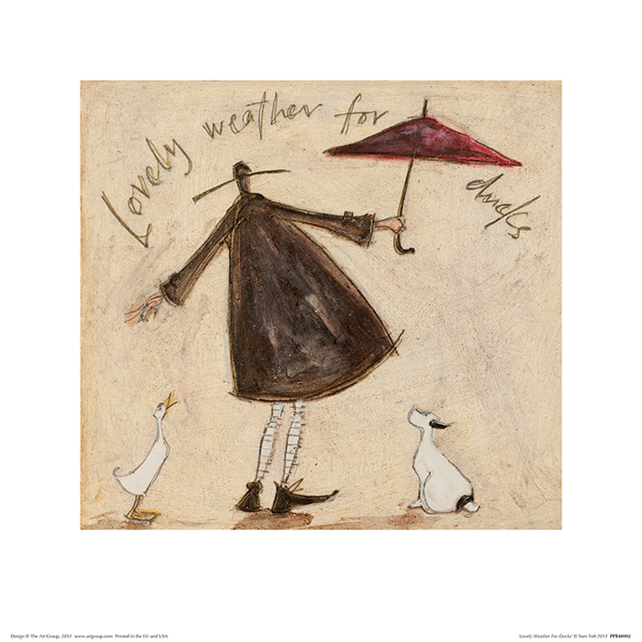 Sam Toft (Lovely Weather For Ducks) Art Prints