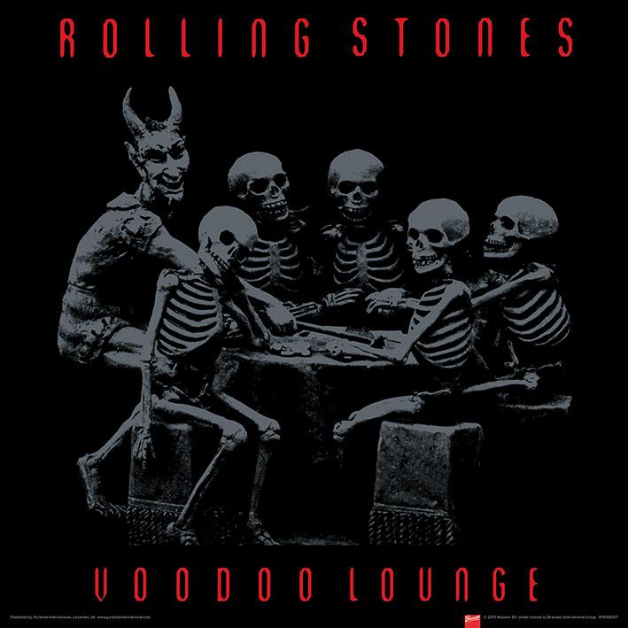 Rolling Stones (Voodoo Lounge) Art Print