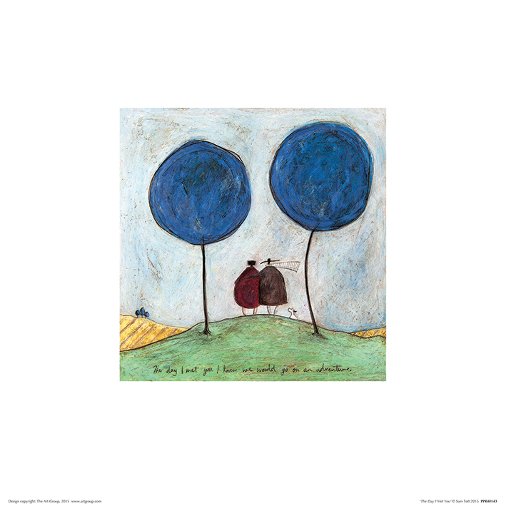 Sam Toft (The Day I Met You) Art Print