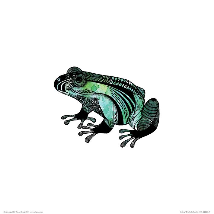 Sofie Rolfsdotter (Le Frog) Art Print