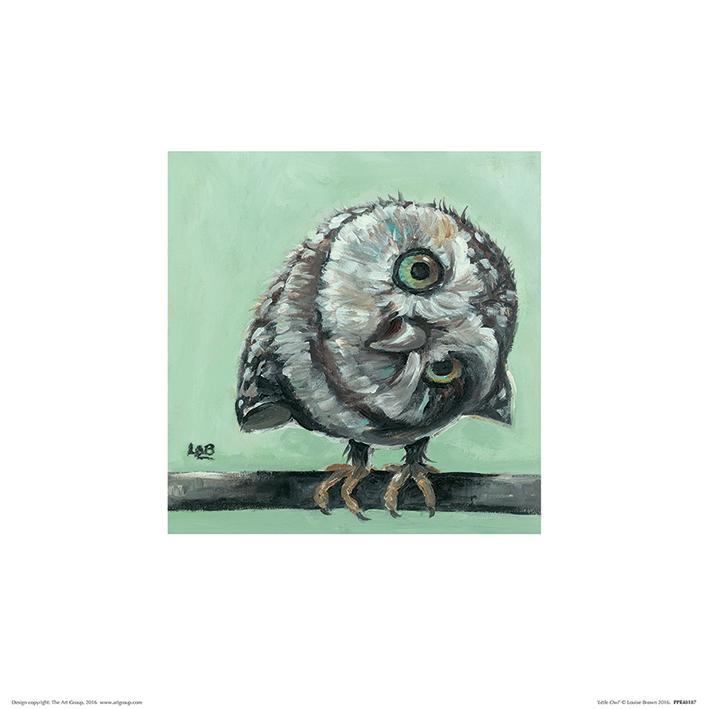 Louise Brown (Little Owl) Art Prints